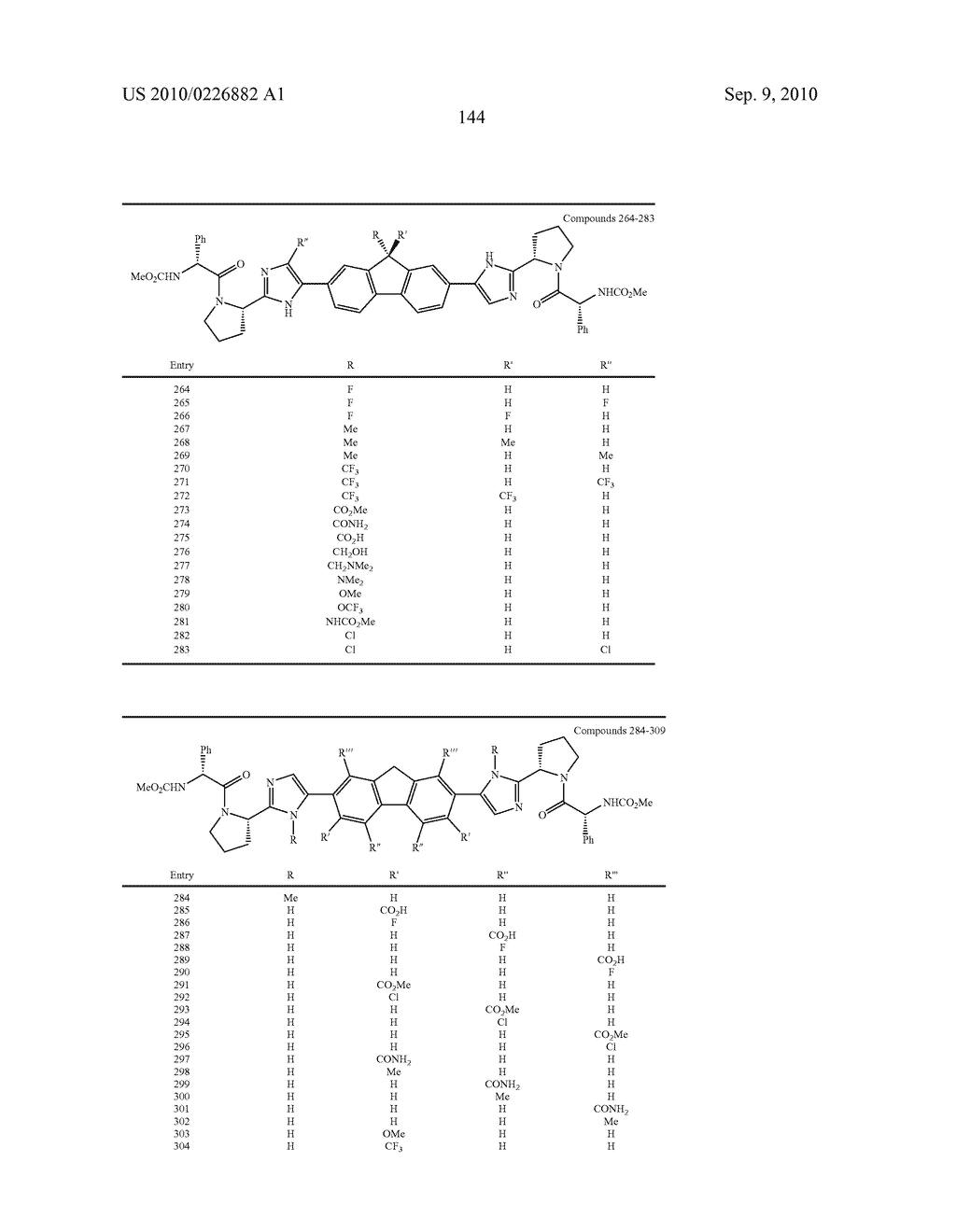 LINKED DIIMIDAZOLE ANTIVIRALS - diagram, schematic, and image 145