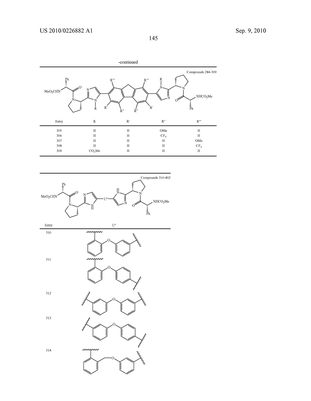 LINKED DIIMIDAZOLE ANTIVIRALS - diagram, schematic, and image 146