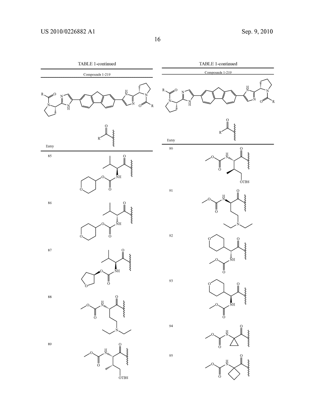 LINKED DIIMIDAZOLE ANTIVIRALS - diagram, schematic, and image 17