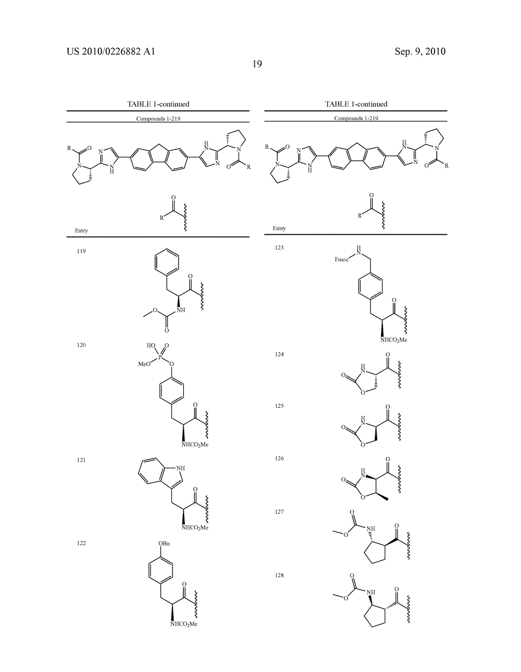 LINKED DIIMIDAZOLE ANTIVIRALS - diagram, schematic, and image 20