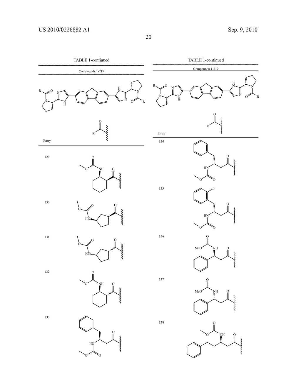 LINKED DIIMIDAZOLE ANTIVIRALS - diagram, schematic, and image 21
