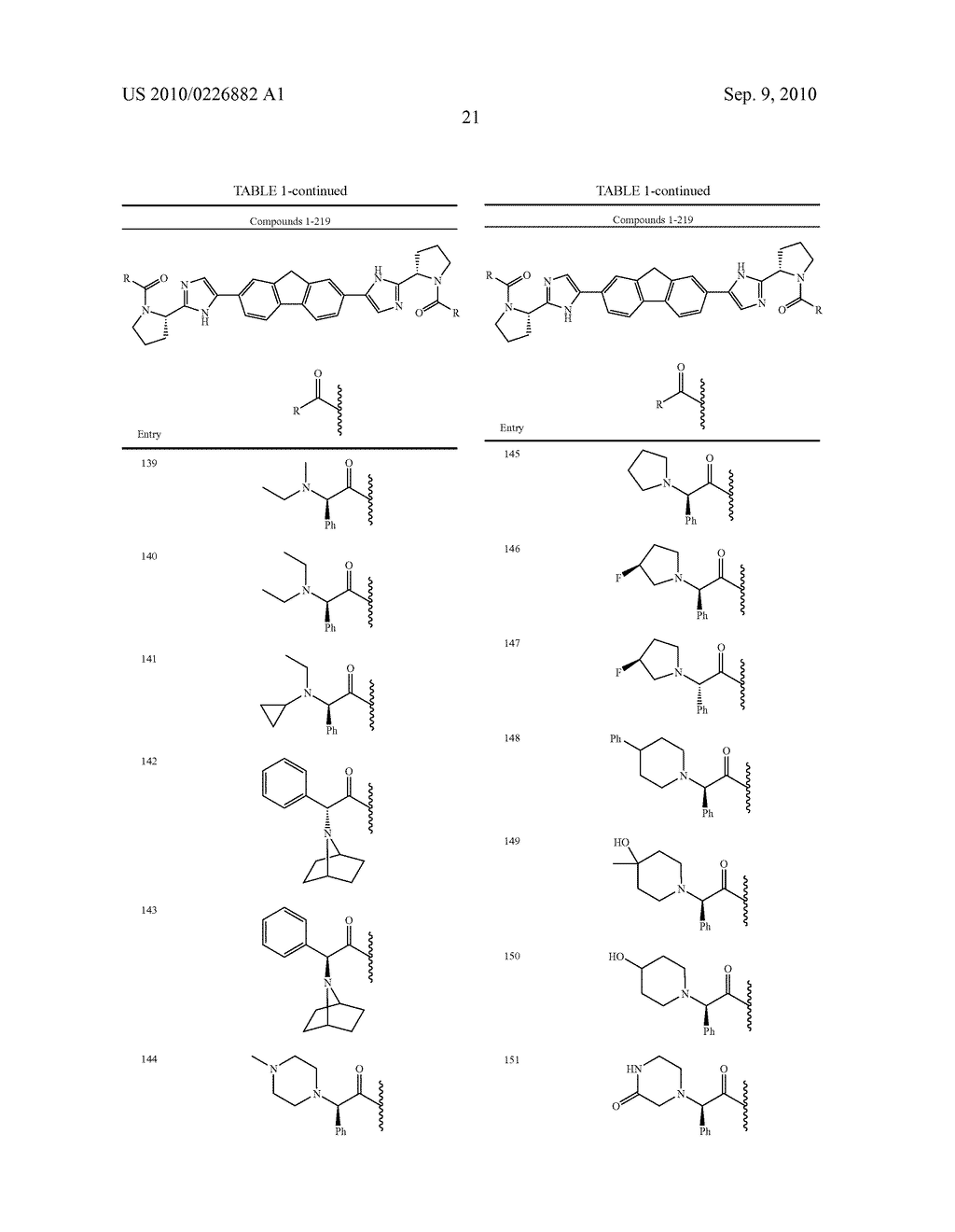 LINKED DIIMIDAZOLE ANTIVIRALS - diagram, schematic, and image 22