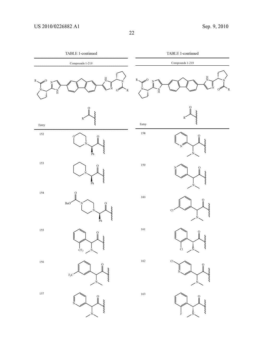 LINKED DIIMIDAZOLE ANTIVIRALS - diagram, schematic, and image 23