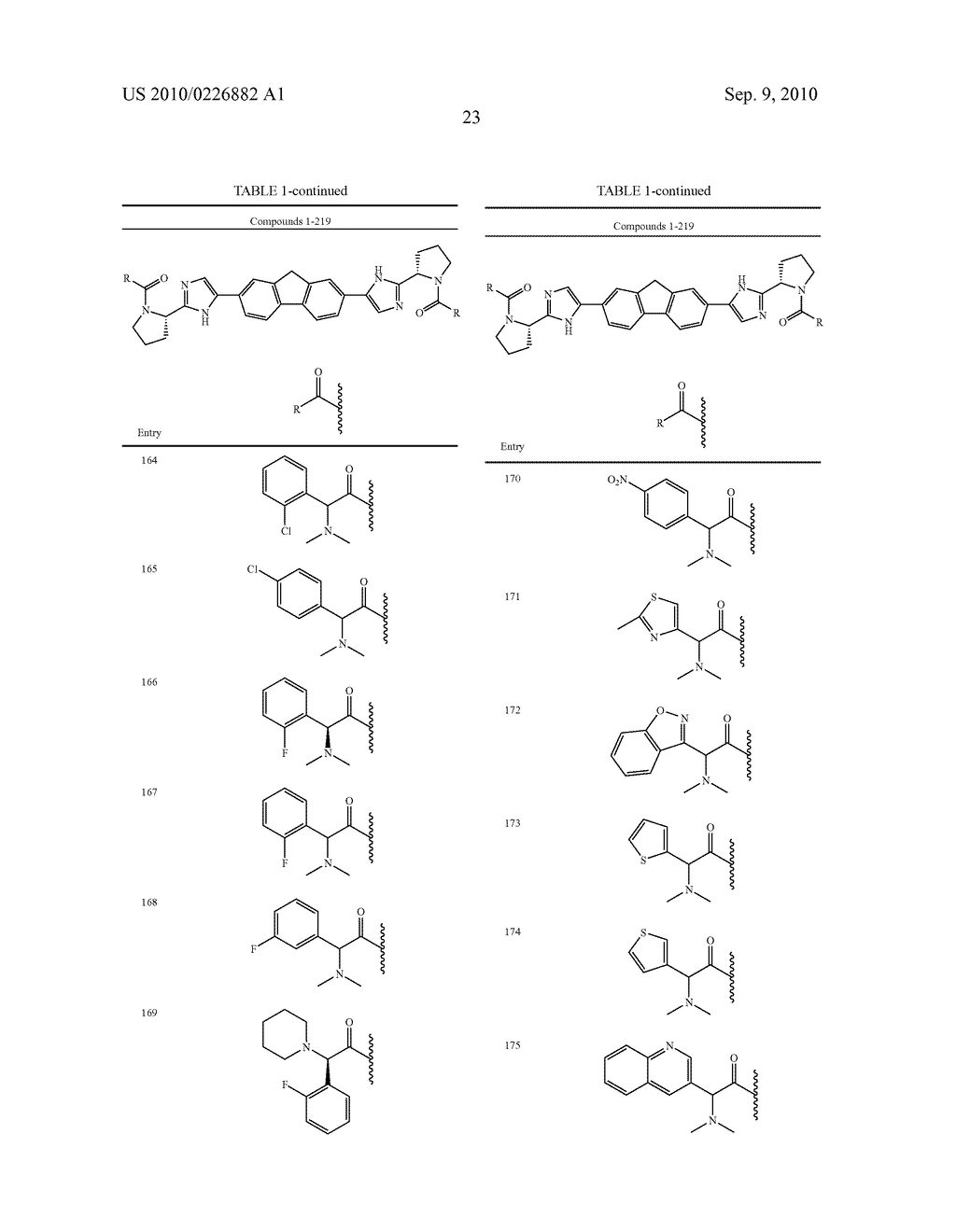 LINKED DIIMIDAZOLE ANTIVIRALS - diagram, schematic, and image 24