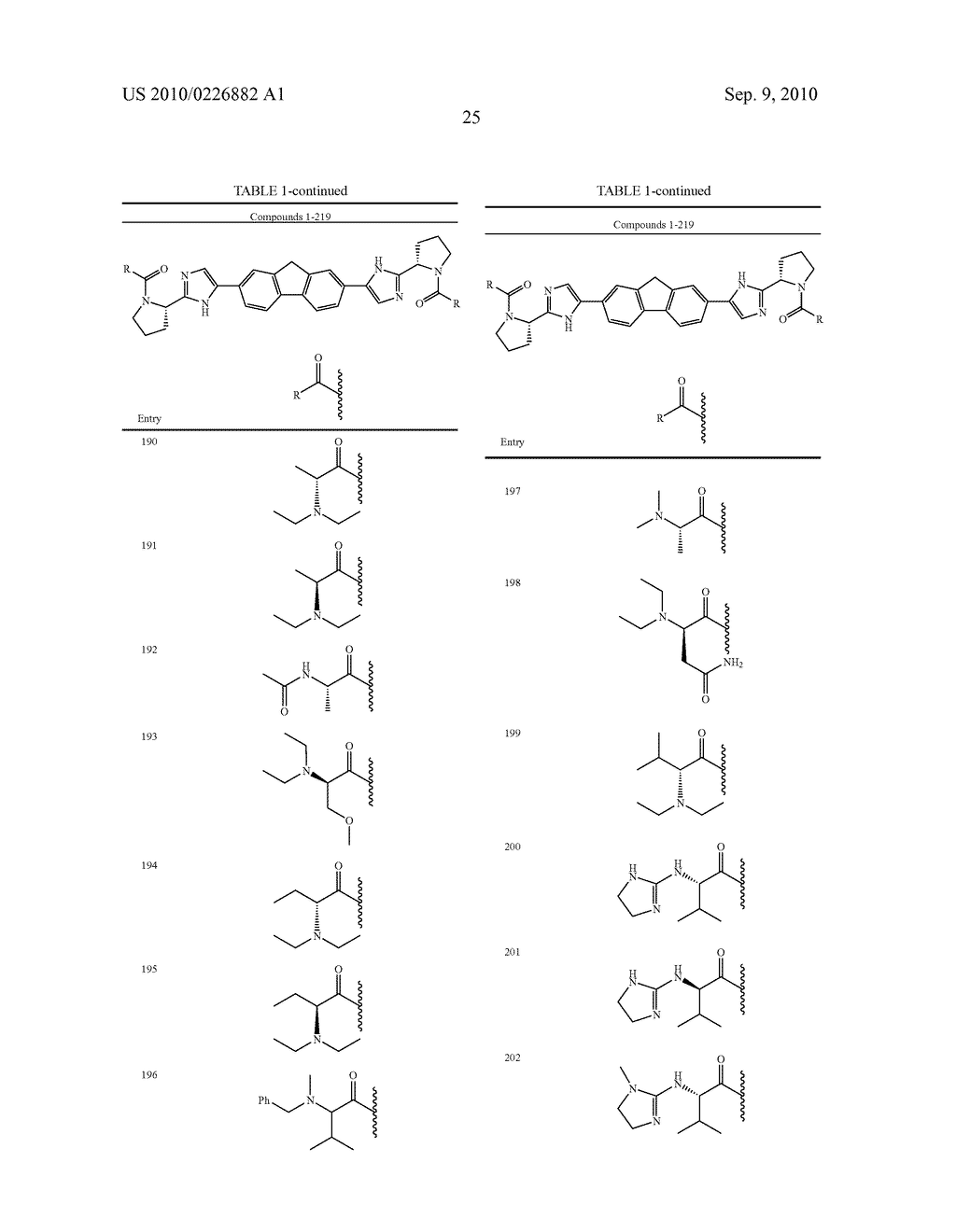 LINKED DIIMIDAZOLE ANTIVIRALS - diagram, schematic, and image 26