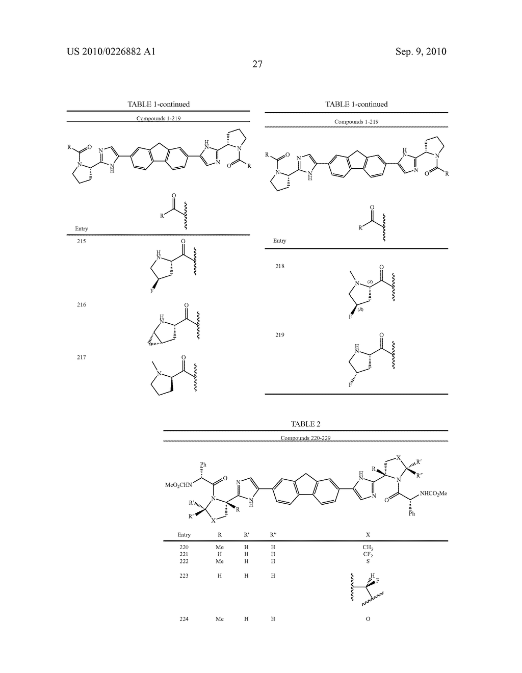 LINKED DIIMIDAZOLE ANTIVIRALS - diagram, schematic, and image 28