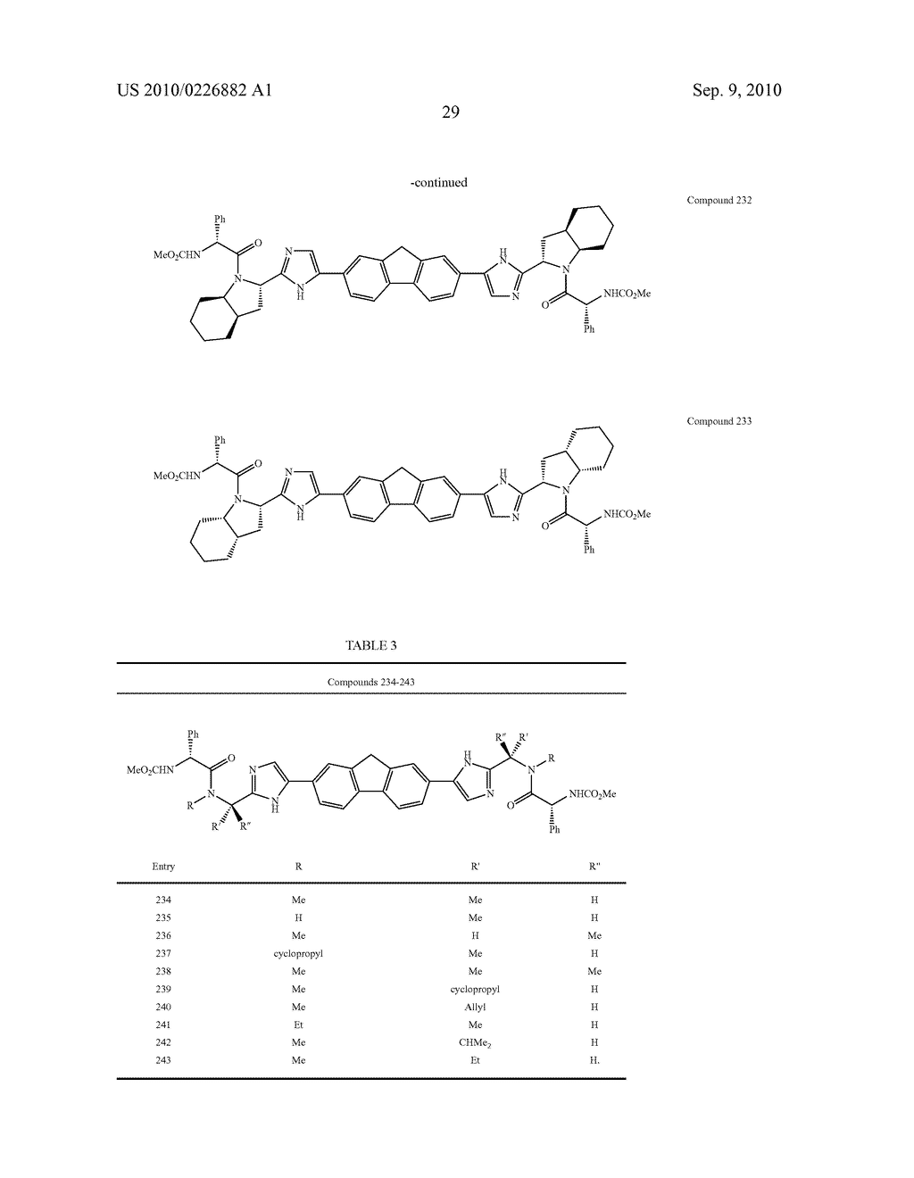 LINKED DIIMIDAZOLE ANTIVIRALS - diagram, schematic, and image 30