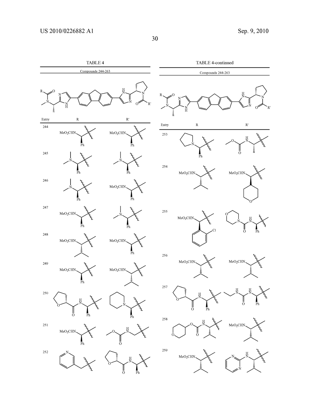 LINKED DIIMIDAZOLE ANTIVIRALS - diagram, schematic, and image 31
