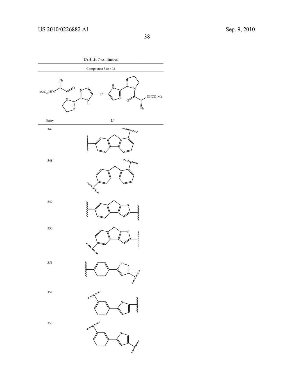 LINKED DIIMIDAZOLE ANTIVIRALS - diagram, schematic, and image 39