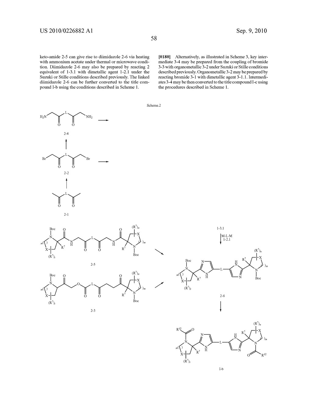 LINKED DIIMIDAZOLE ANTIVIRALS - diagram, schematic, and image 59