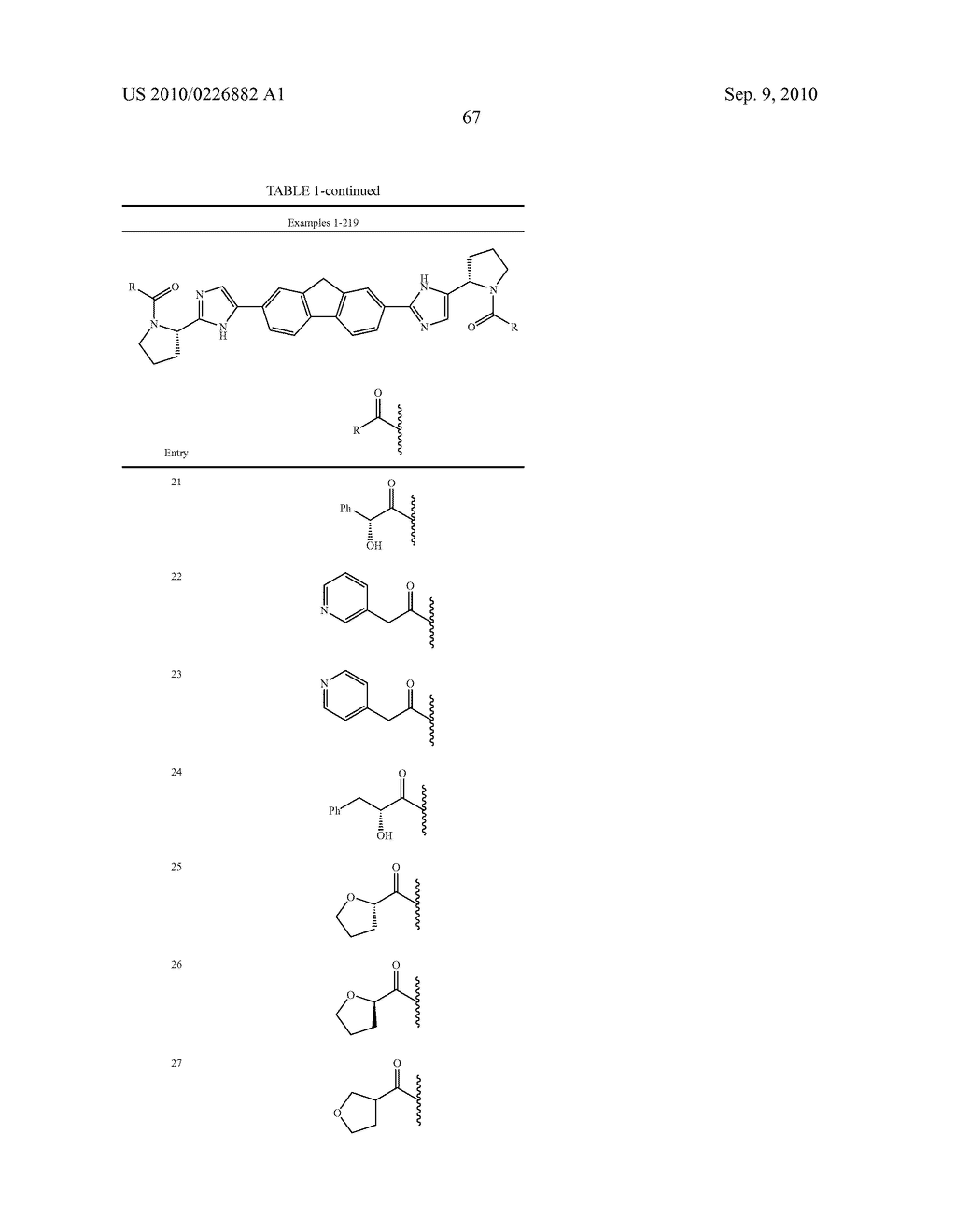 LINKED DIIMIDAZOLE ANTIVIRALS - diagram, schematic, and image 68