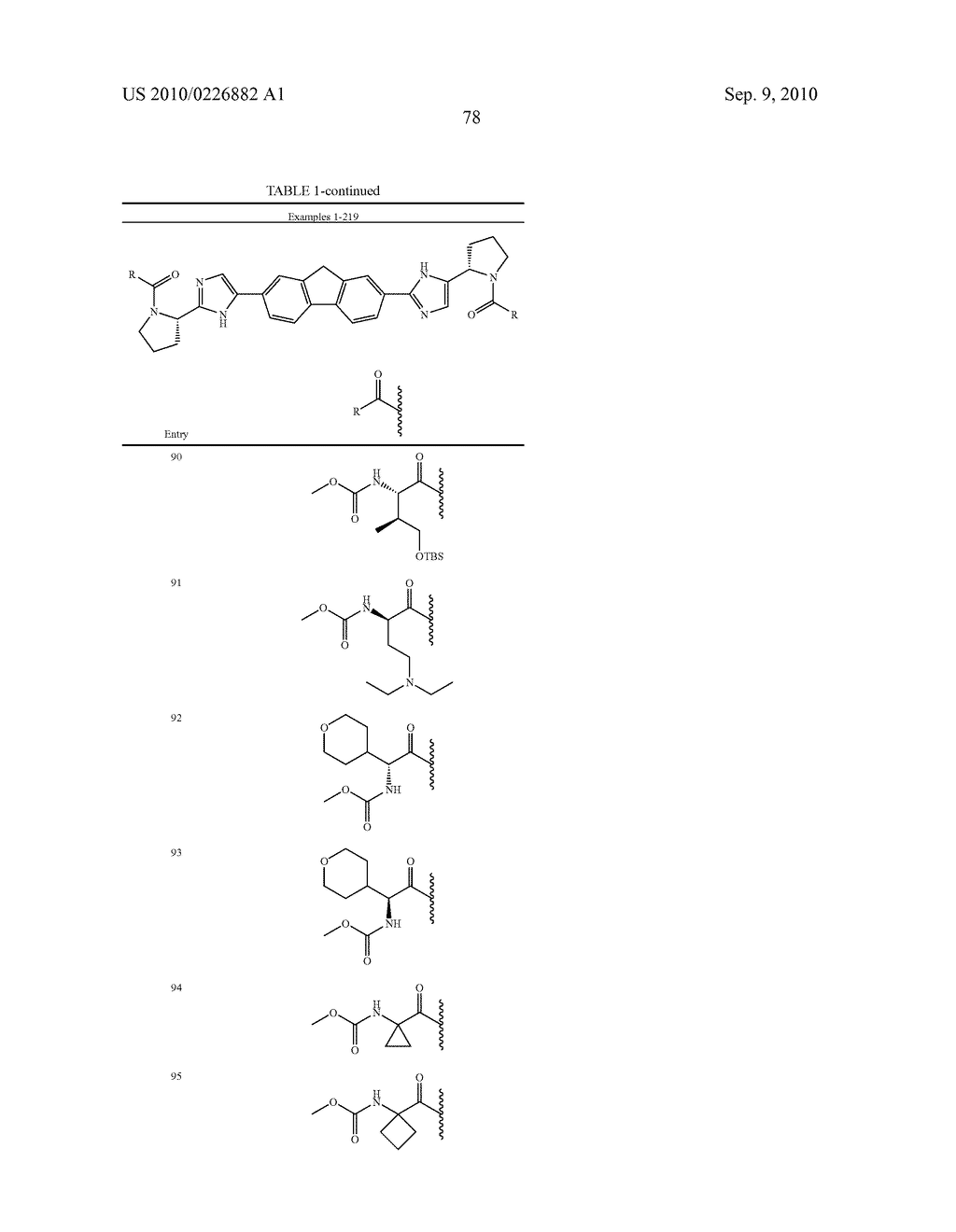 LINKED DIIMIDAZOLE ANTIVIRALS - diagram, schematic, and image 79