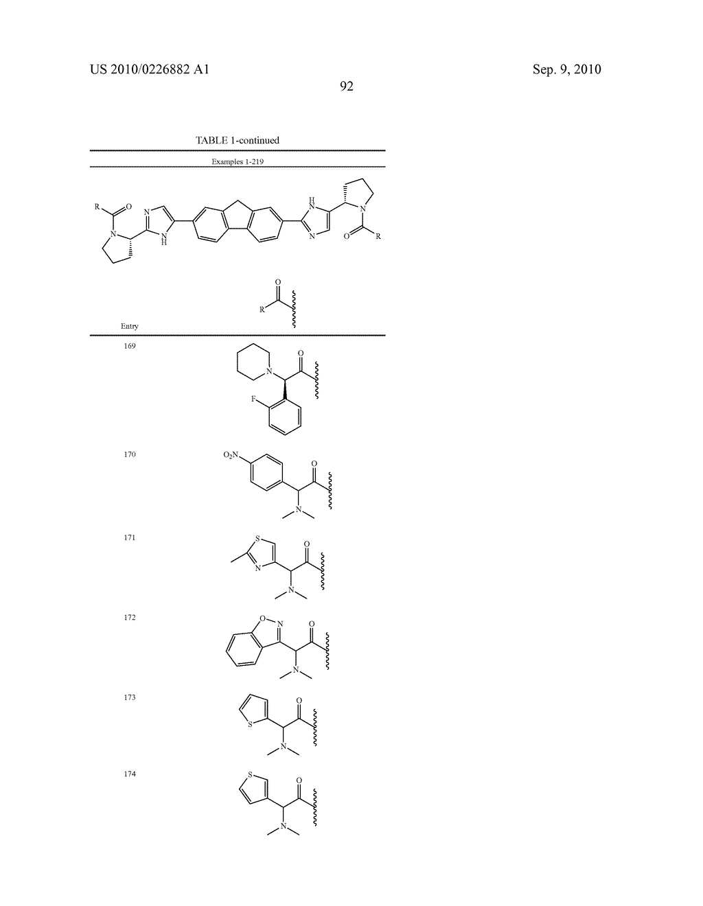 LINKED DIIMIDAZOLE ANTIVIRALS - diagram, schematic, and image 93