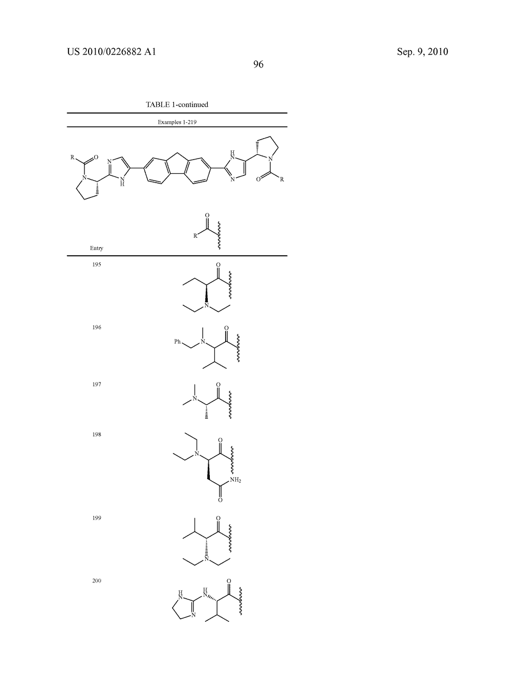 LINKED DIIMIDAZOLE ANTIVIRALS - diagram, schematic, and image 97