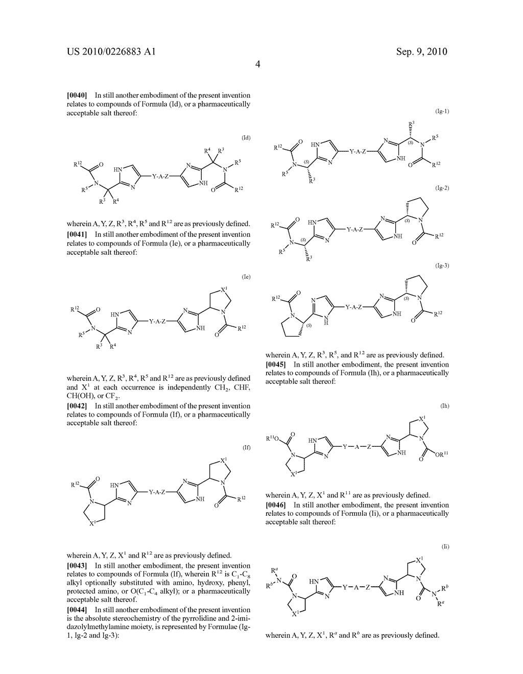 LINKED DIIMIDAZOLE DERIVATIVES - diagram, schematic, and image 05