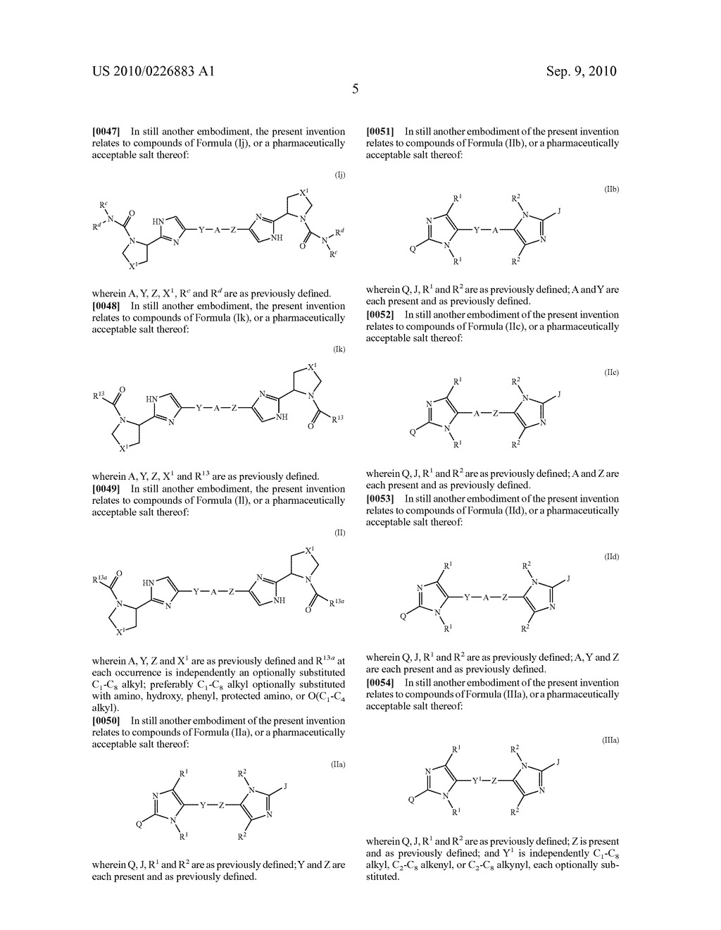 LINKED DIIMIDAZOLE DERIVATIVES - diagram, schematic, and image 06