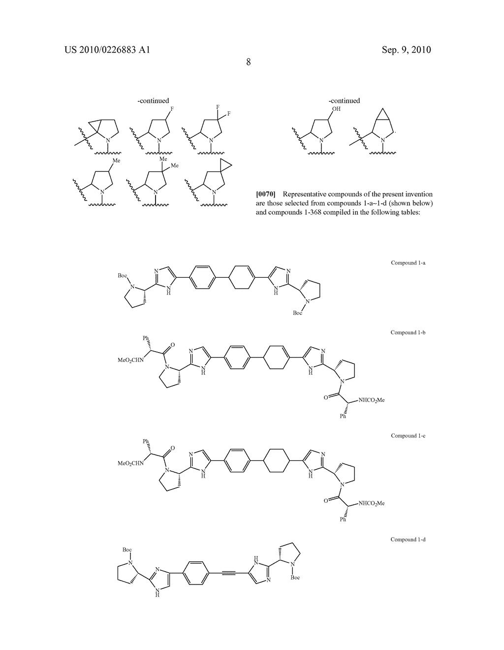 LINKED DIIMIDAZOLE DERIVATIVES - diagram, schematic, and image 09