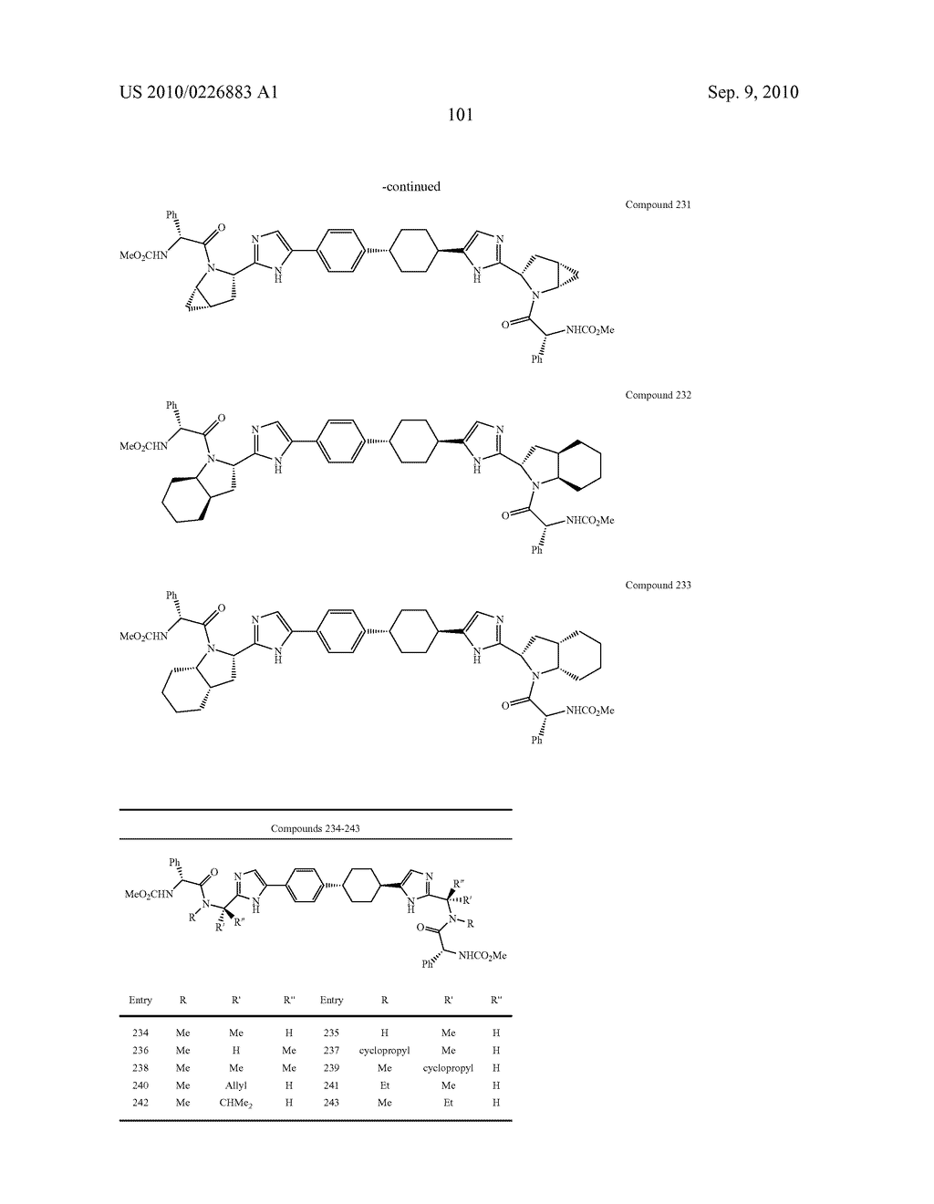 LINKED DIIMIDAZOLE DERIVATIVES - diagram, schematic, and image 102