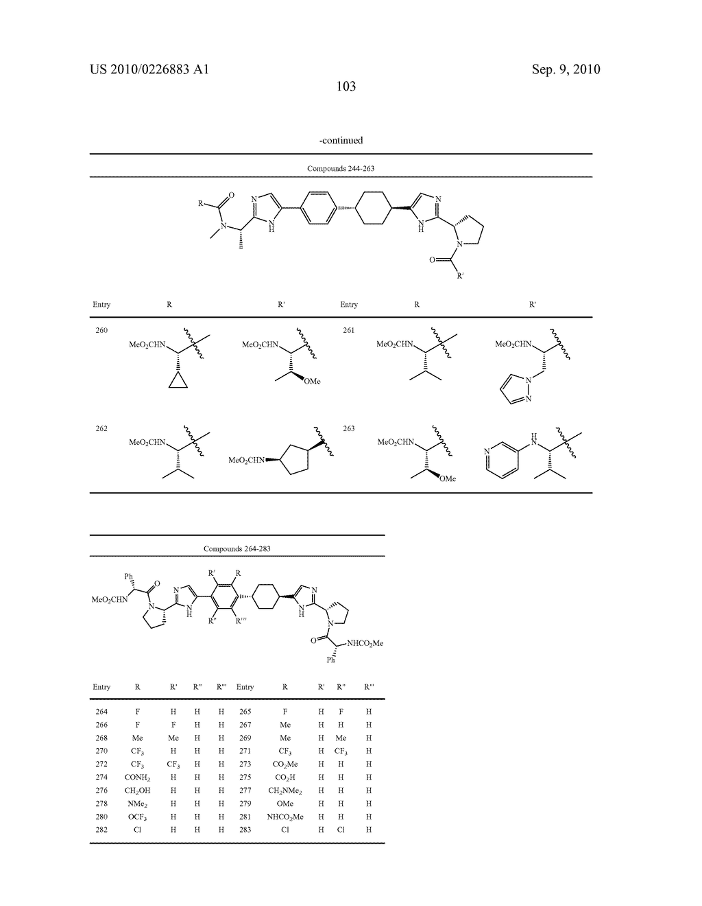 LINKED DIIMIDAZOLE DERIVATIVES - diagram, schematic, and image 104