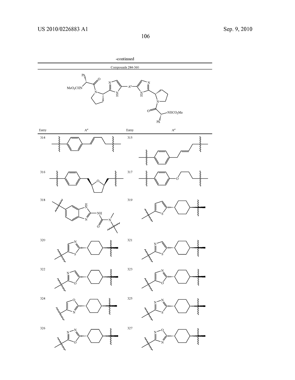 LINKED DIIMIDAZOLE DERIVATIVES - diagram, schematic, and image 107