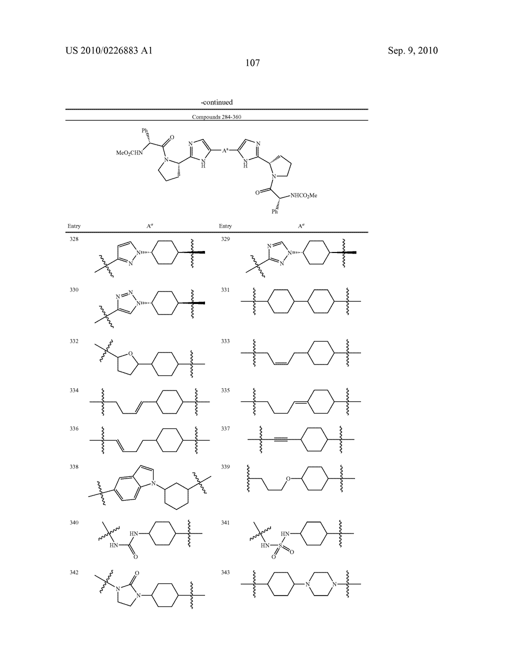 LINKED DIIMIDAZOLE DERIVATIVES - diagram, schematic, and image 108