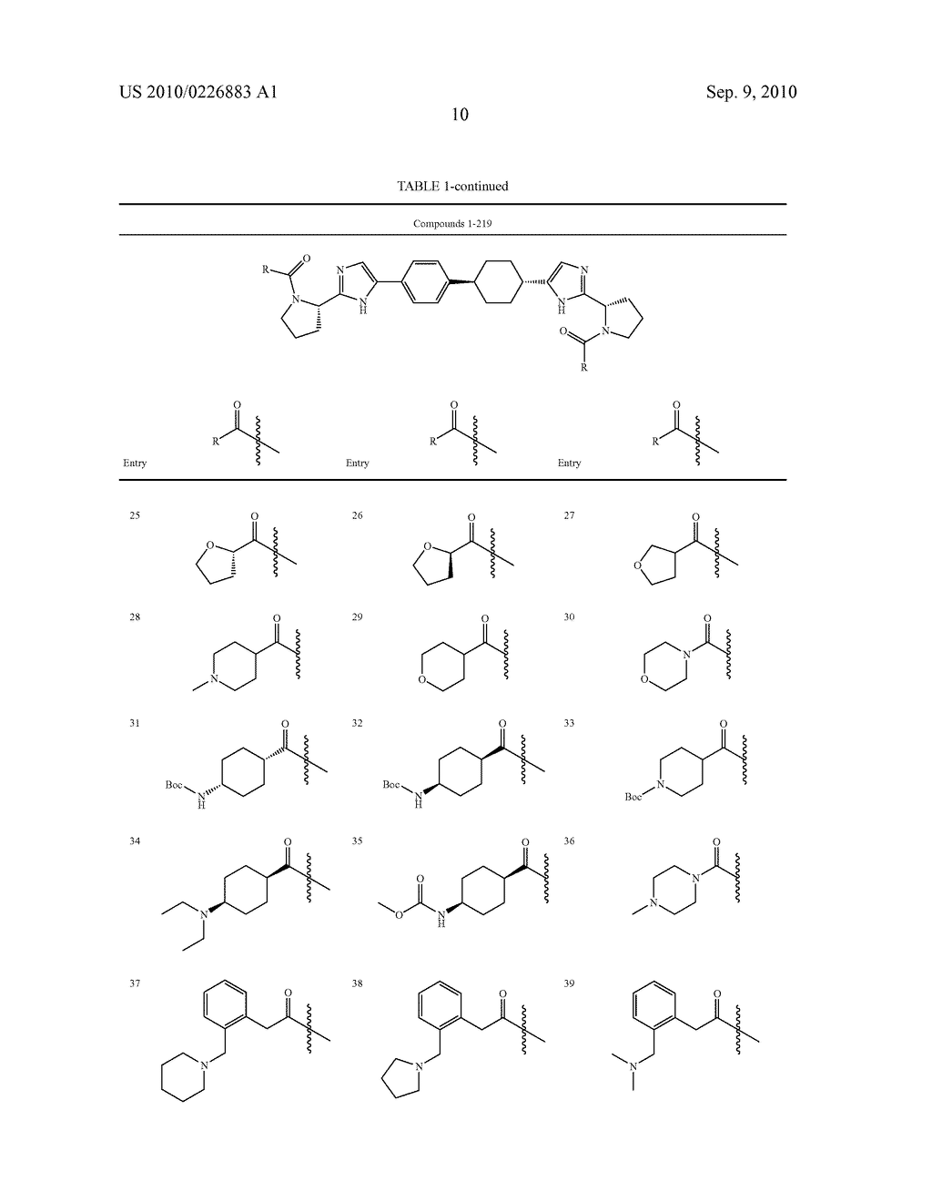 LINKED DIIMIDAZOLE DERIVATIVES - diagram, schematic, and image 11