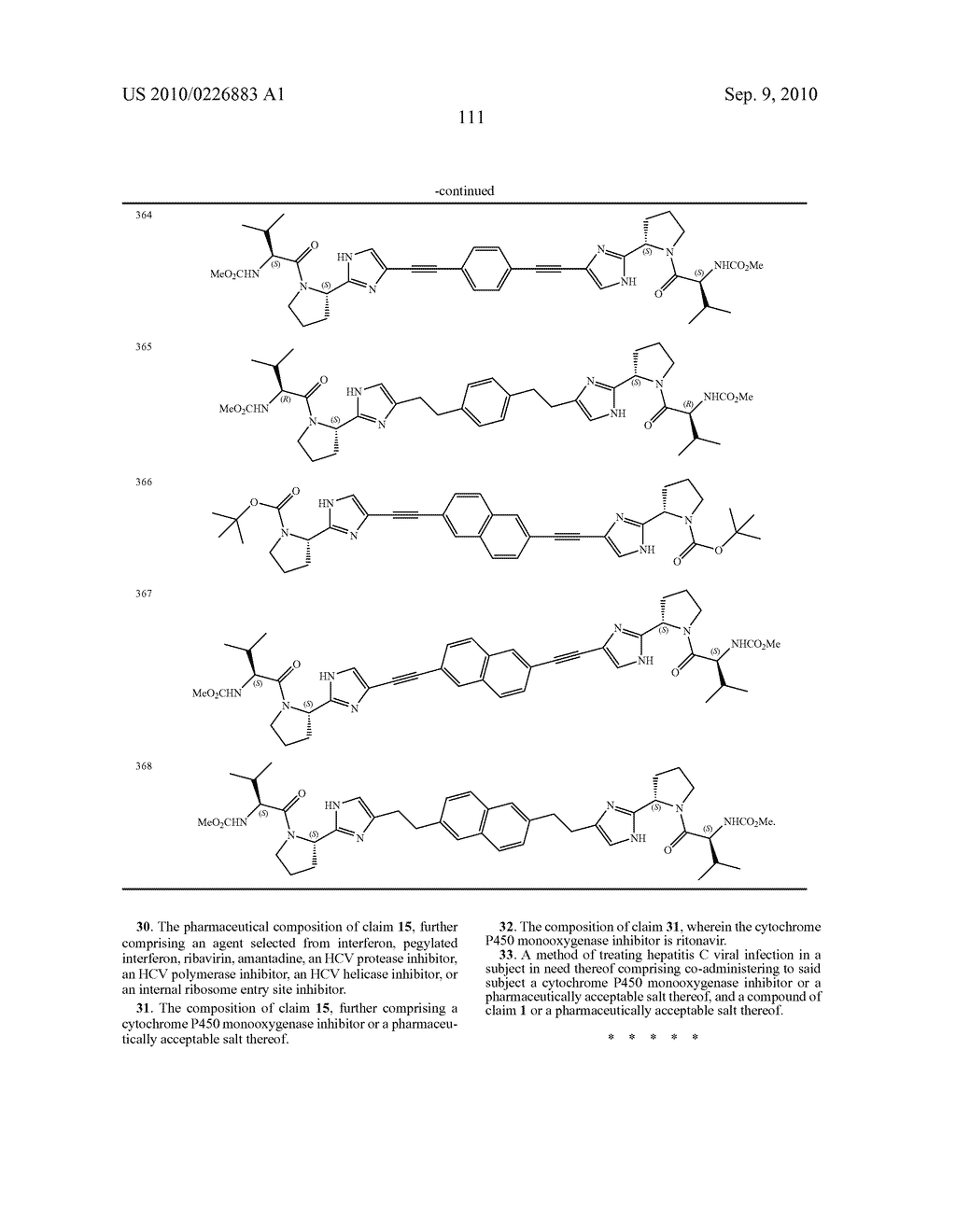 LINKED DIIMIDAZOLE DERIVATIVES - diagram, schematic, and image 112