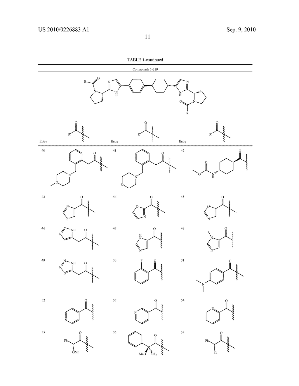 LINKED DIIMIDAZOLE DERIVATIVES - diagram, schematic, and image 12