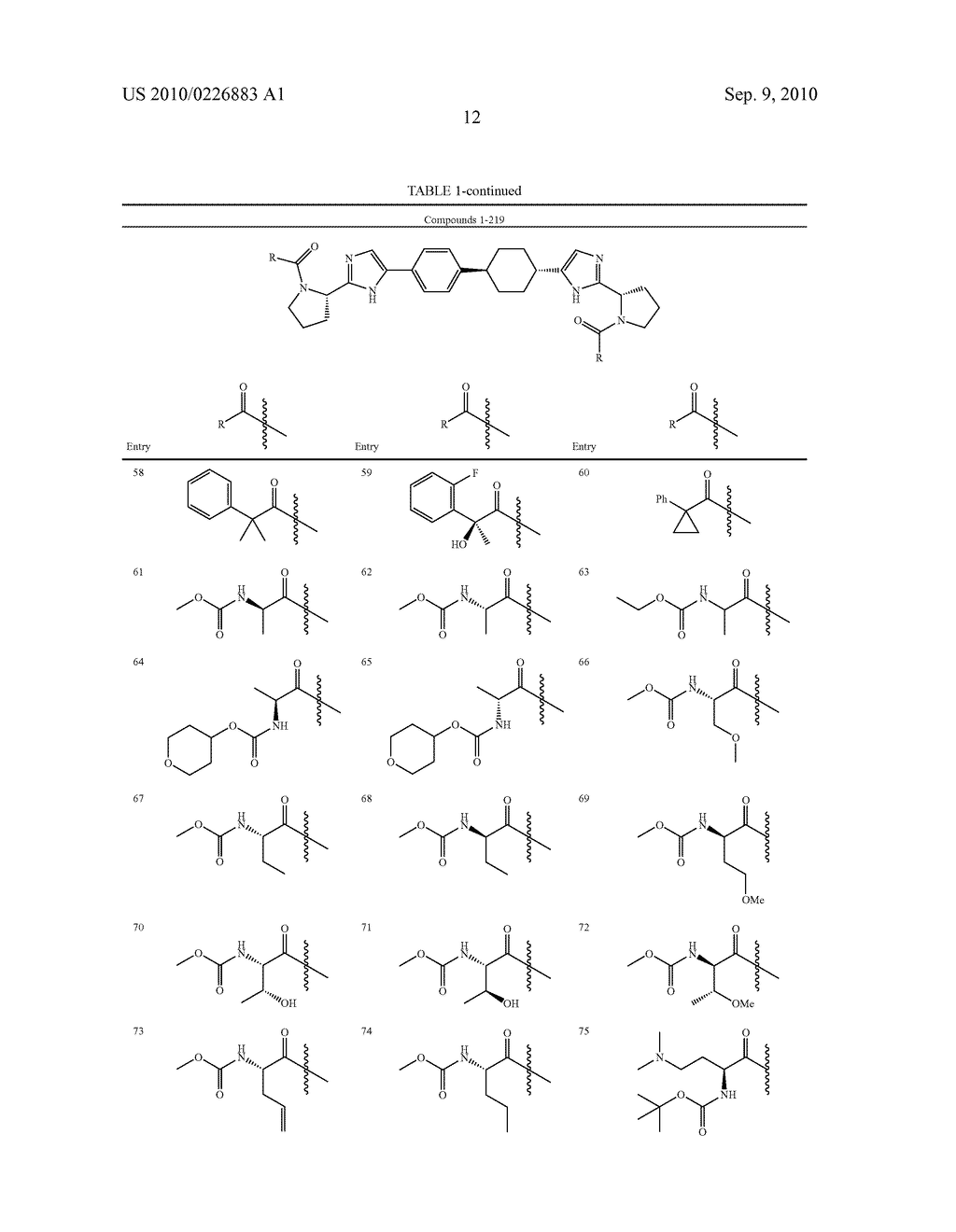 LINKED DIIMIDAZOLE DERIVATIVES - diagram, schematic, and image 13