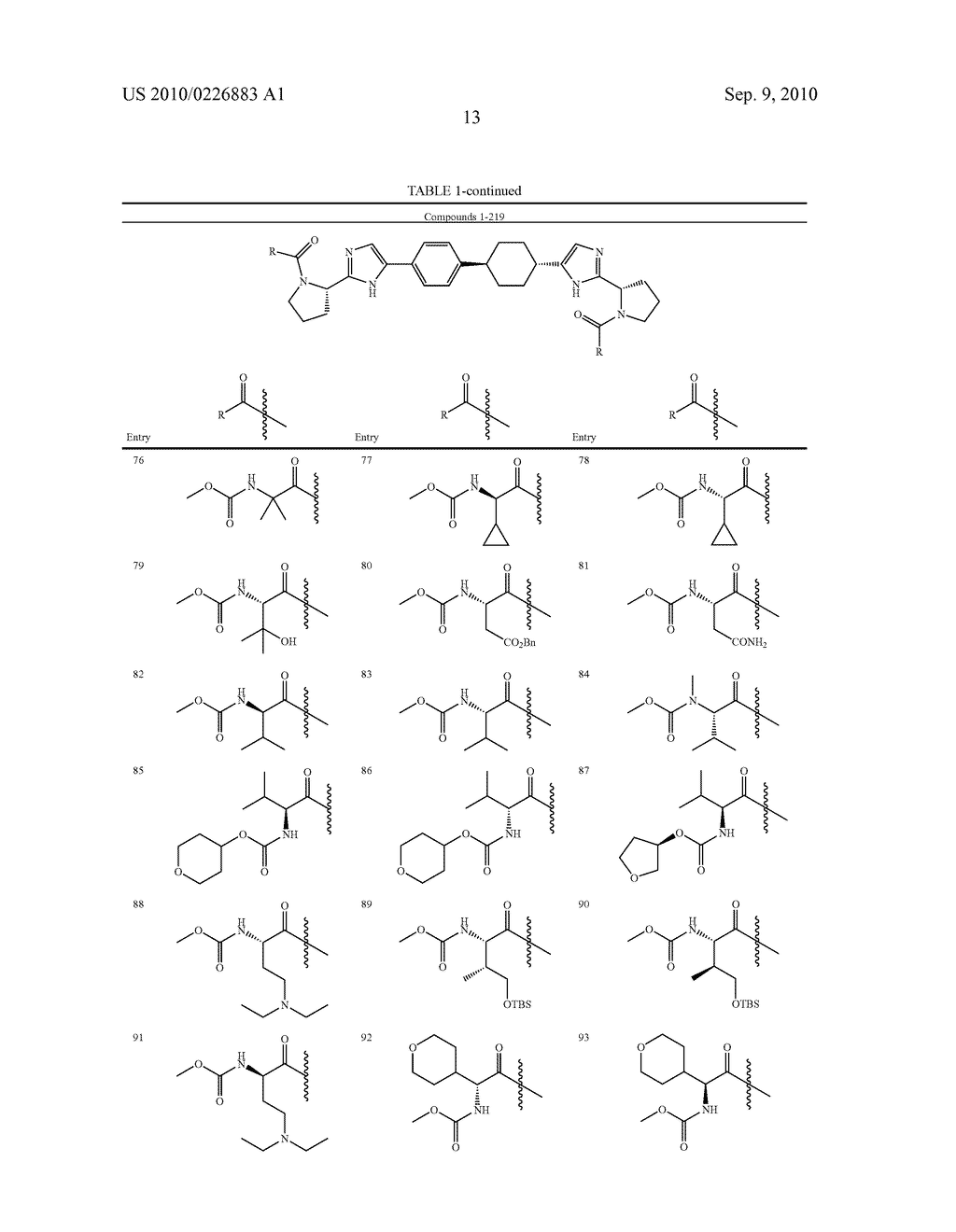 LINKED DIIMIDAZOLE DERIVATIVES - diagram, schematic, and image 14