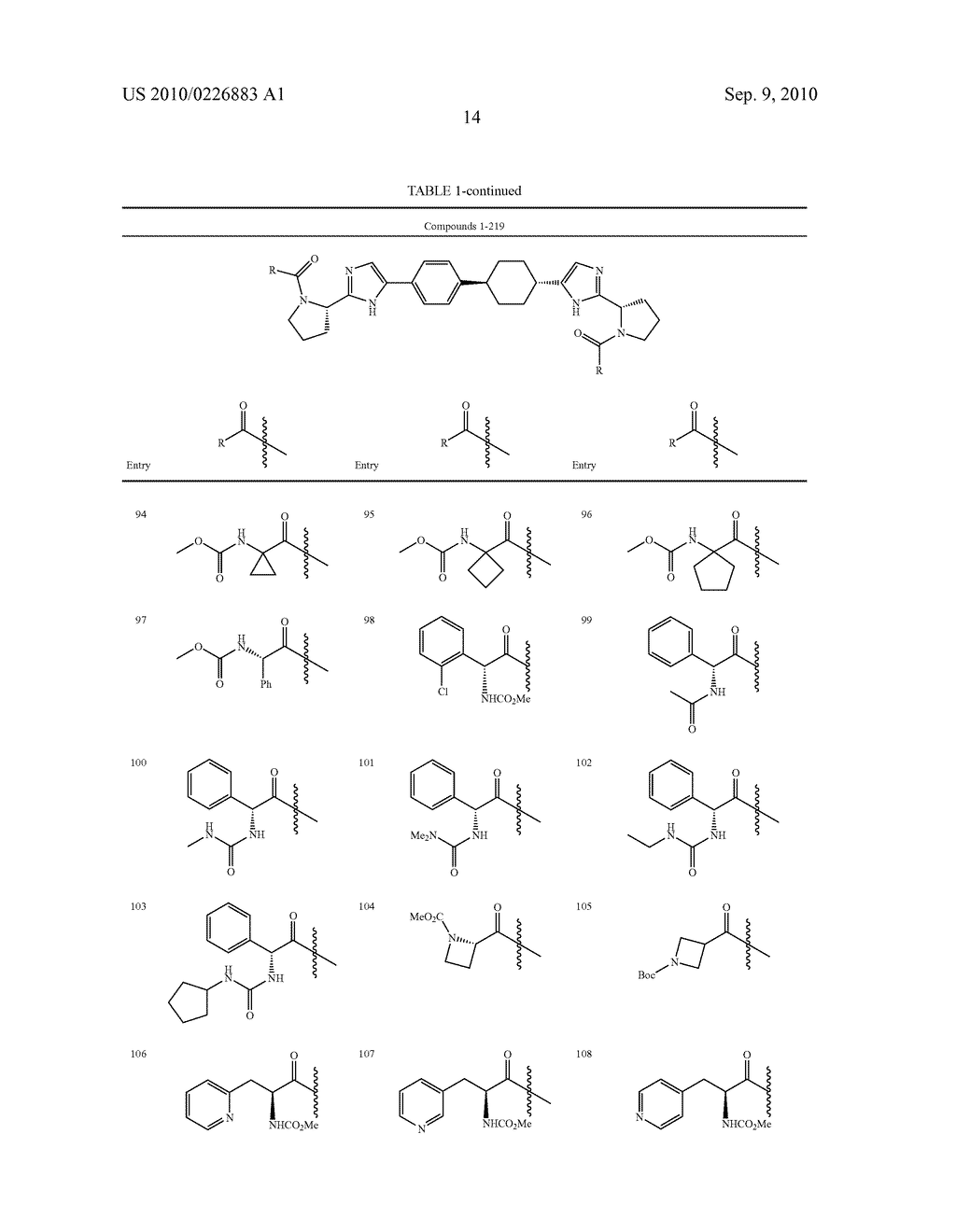 LINKED DIIMIDAZOLE DERIVATIVES - diagram, schematic, and image 15
