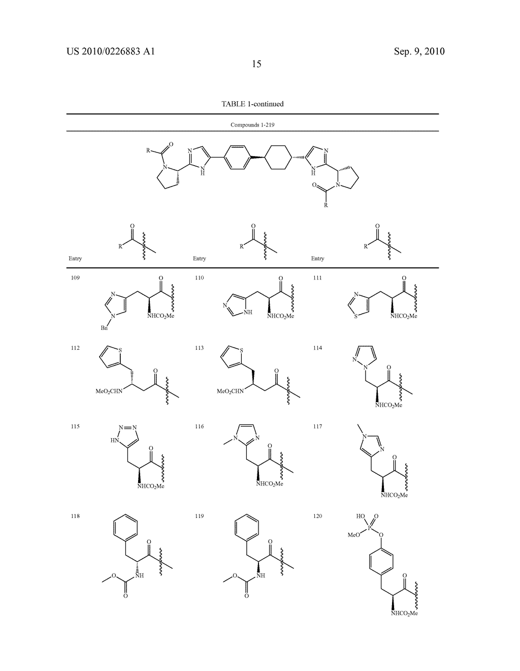 LINKED DIIMIDAZOLE DERIVATIVES - diagram, schematic, and image 16