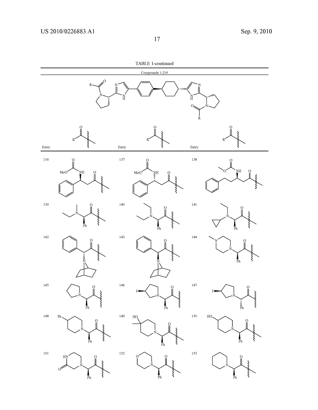 LINKED DIIMIDAZOLE DERIVATIVES - diagram, schematic, and image 18