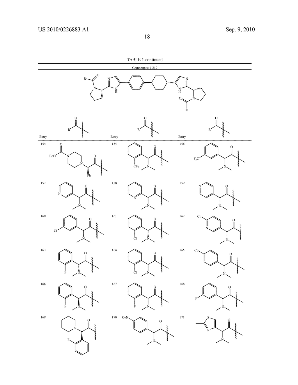 LINKED DIIMIDAZOLE DERIVATIVES - diagram, schematic, and image 19