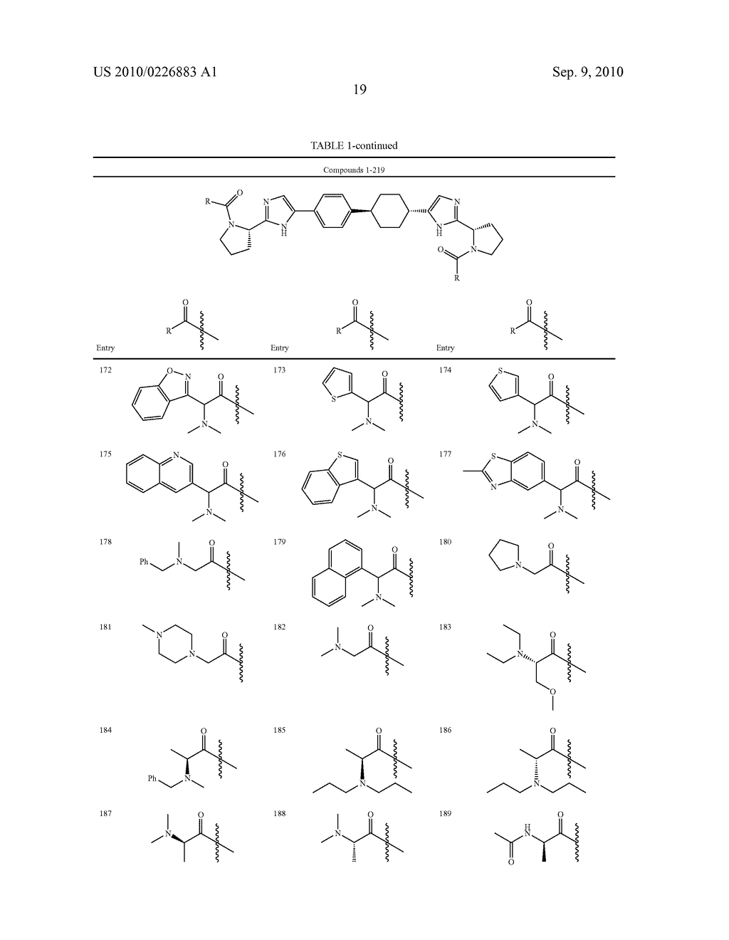 LINKED DIIMIDAZOLE DERIVATIVES - diagram, schematic, and image 20