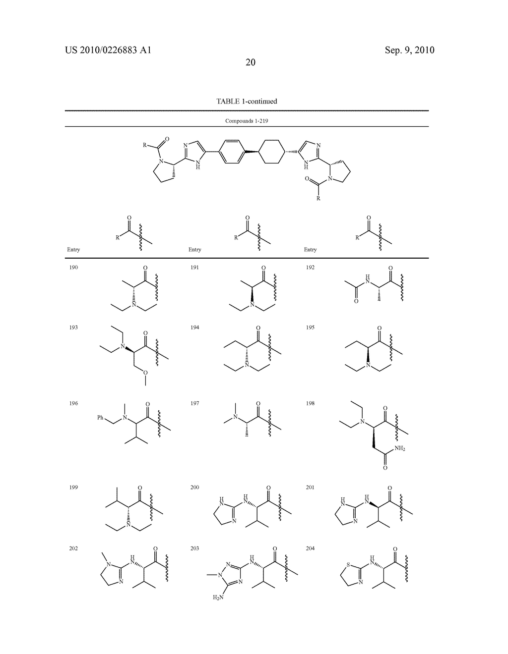 LINKED DIIMIDAZOLE DERIVATIVES - diagram, schematic, and image 21