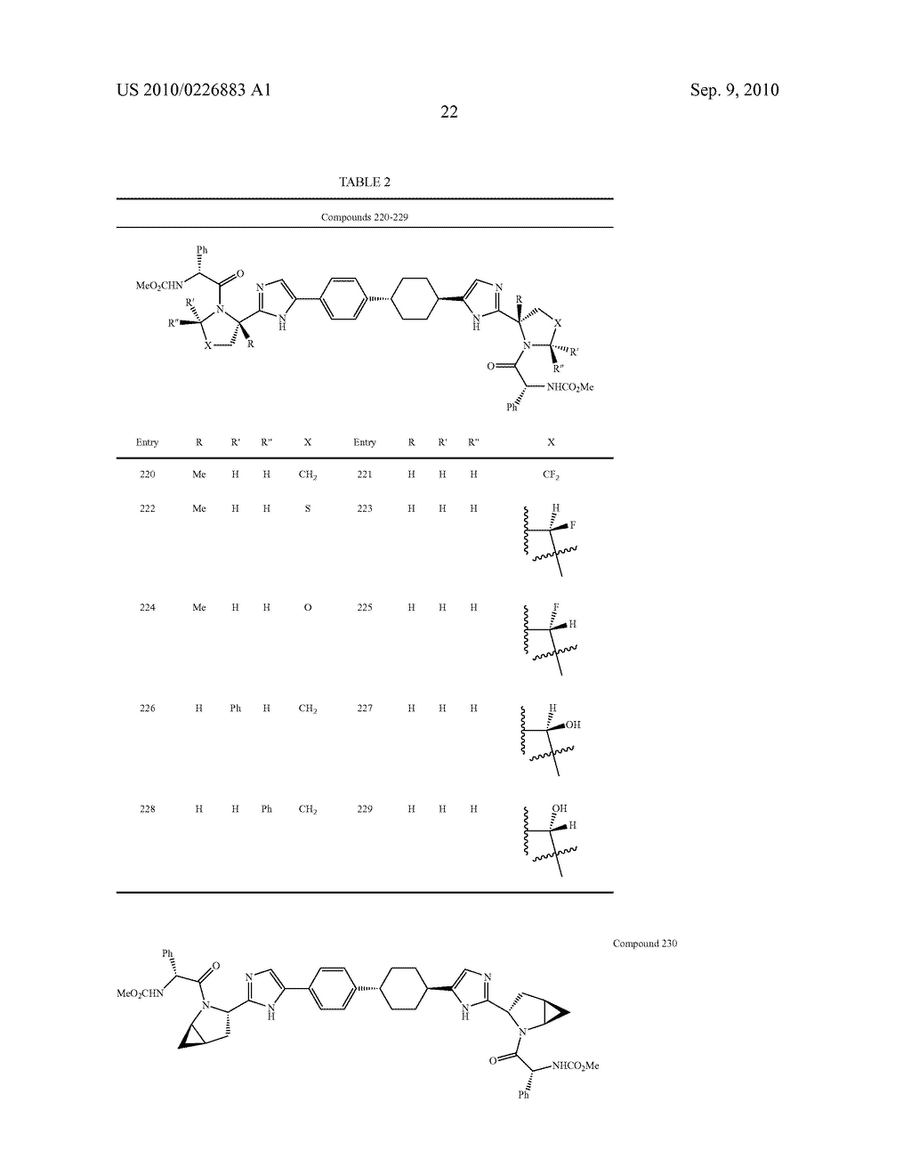 LINKED DIIMIDAZOLE DERIVATIVES - diagram, schematic, and image 23