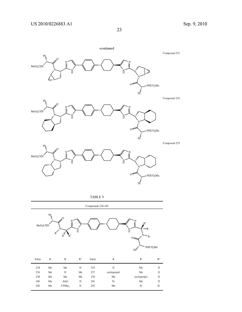 LINKED DIIMIDAZOLE DERIVATIVES - diagram, schematic, and image 24
