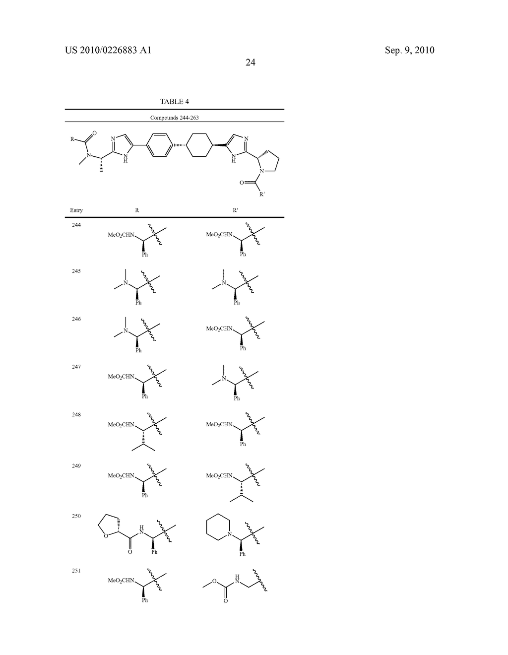 LINKED DIIMIDAZOLE DERIVATIVES - diagram, schematic, and image 25