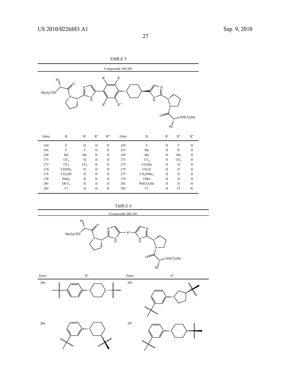 LINKED DIIMIDAZOLE DERIVATIVES - diagram, schematic, and image 28