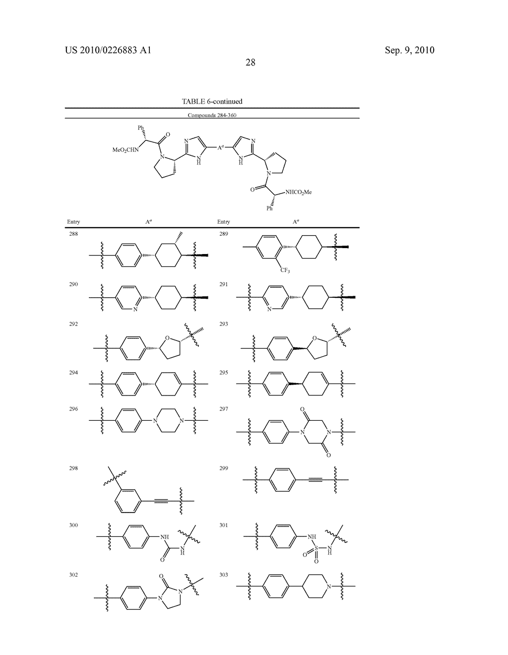 LINKED DIIMIDAZOLE DERIVATIVES - diagram, schematic, and image 29