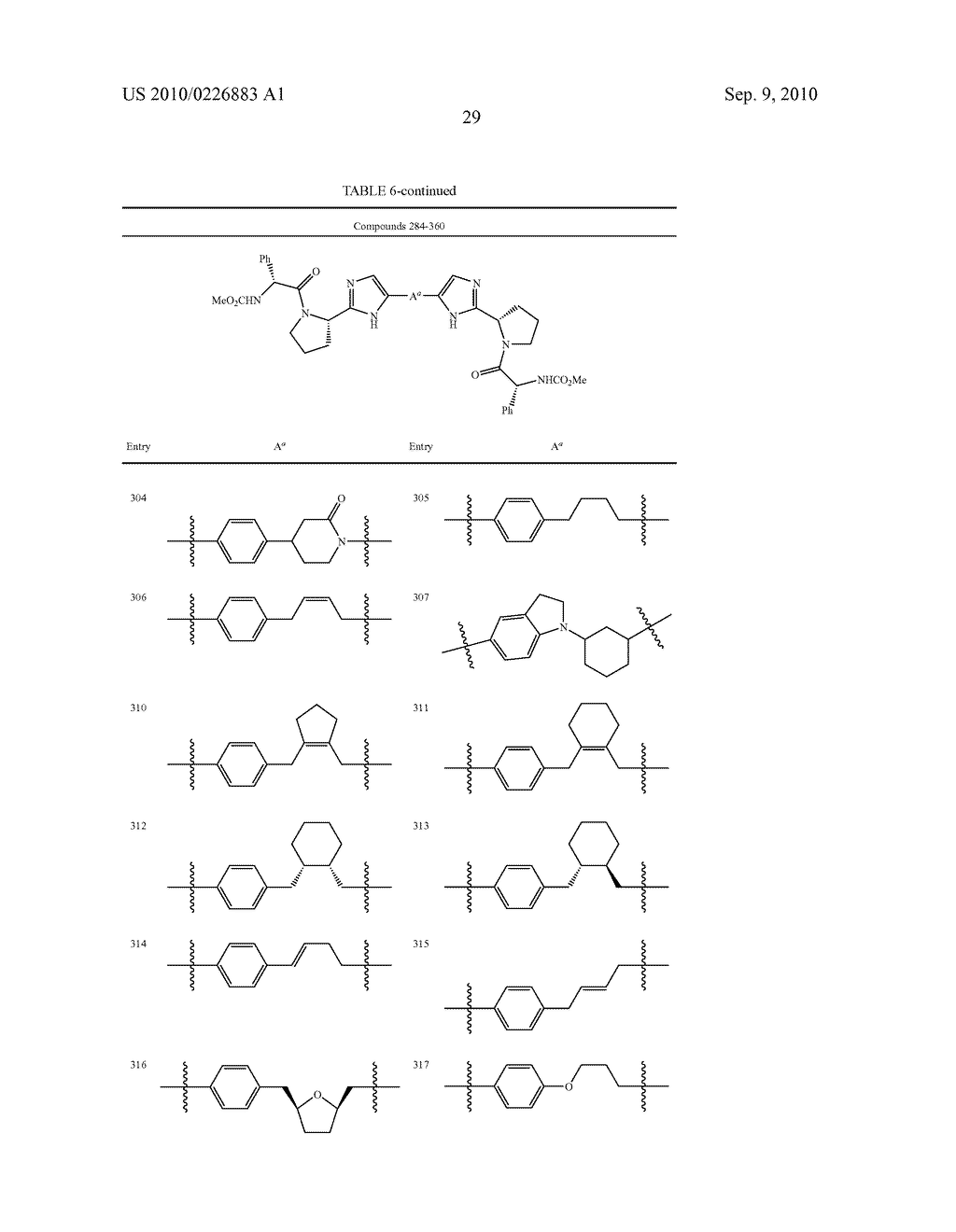LINKED DIIMIDAZOLE DERIVATIVES - diagram, schematic, and image 30
