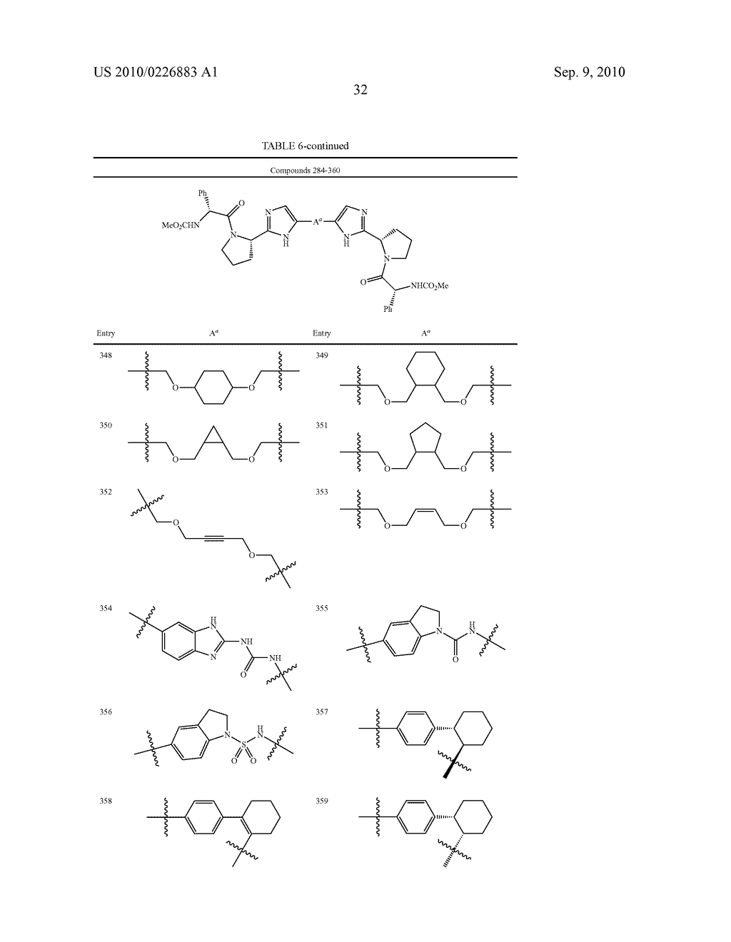 LINKED DIIMIDAZOLE DERIVATIVES - diagram, schematic, and image 33