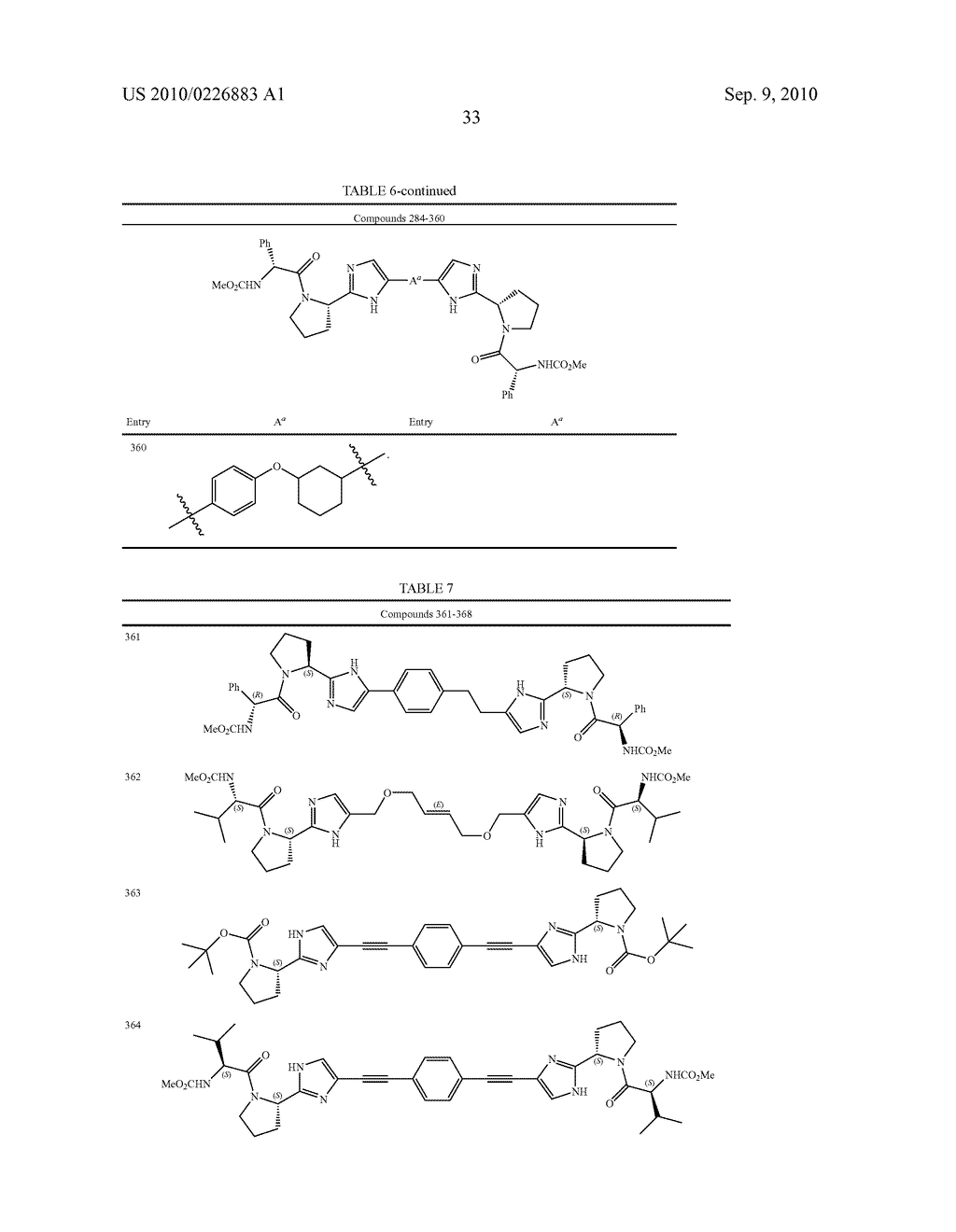 LINKED DIIMIDAZOLE DERIVATIVES - diagram, schematic, and image 34
