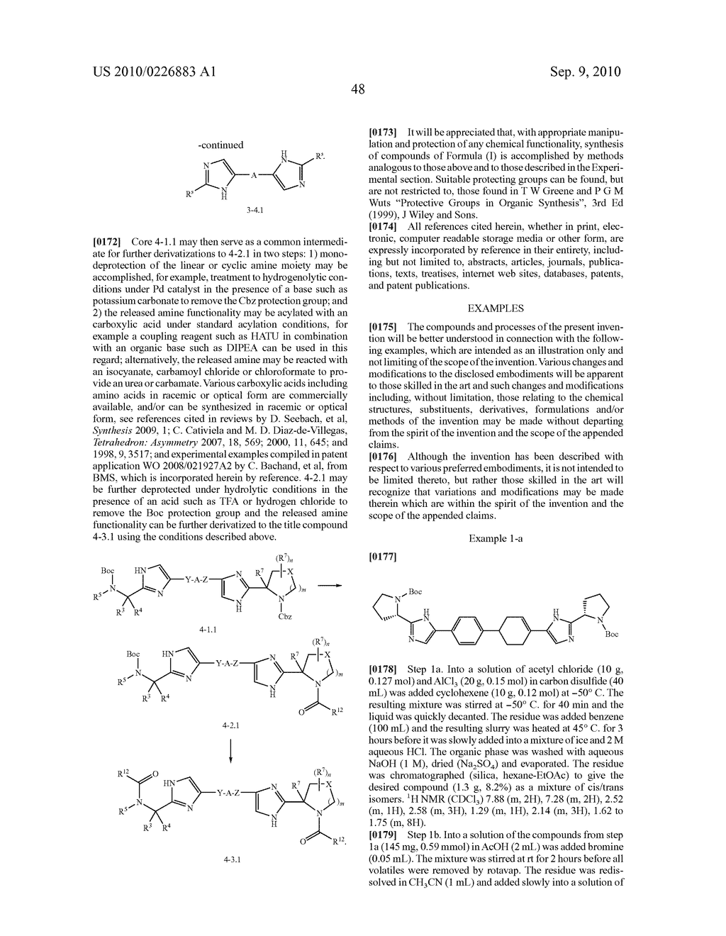 LINKED DIIMIDAZOLE DERIVATIVES - diagram, schematic, and image 49