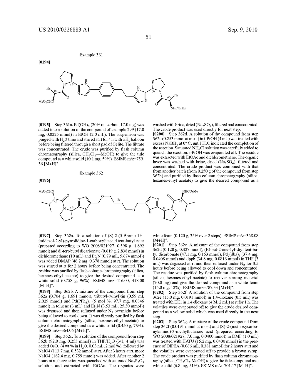 LINKED DIIMIDAZOLE DERIVATIVES - diagram, schematic, and image 52