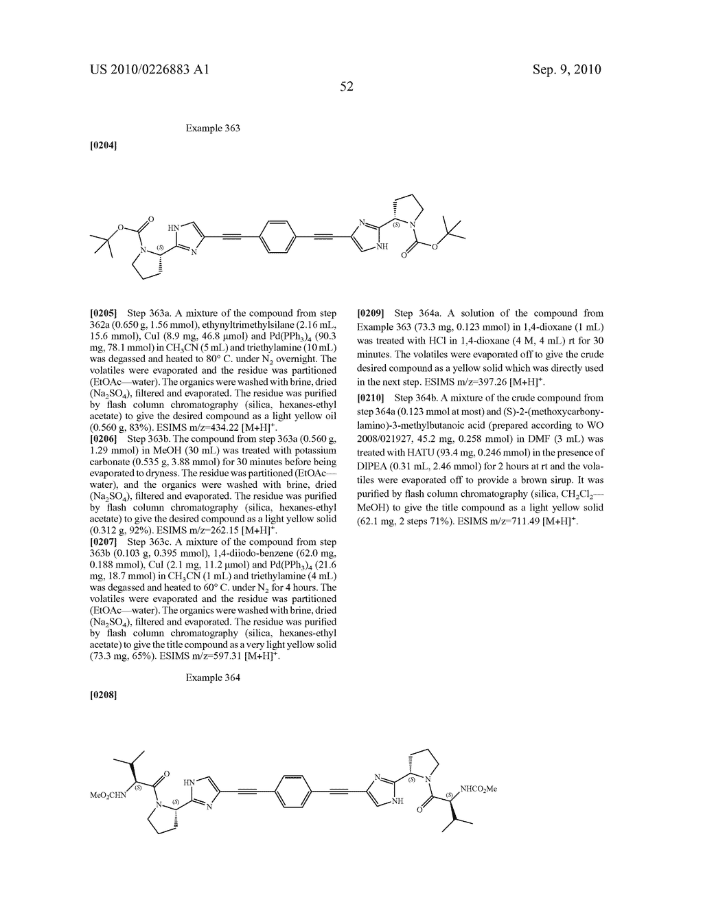 LINKED DIIMIDAZOLE DERIVATIVES - diagram, schematic, and image 53