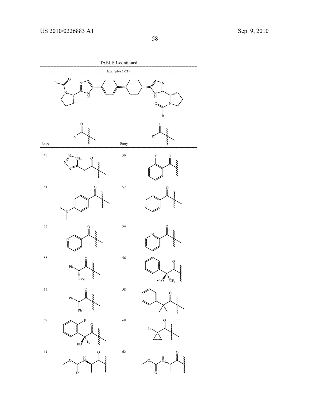 LINKED DIIMIDAZOLE DERIVATIVES - diagram, schematic, and image 59