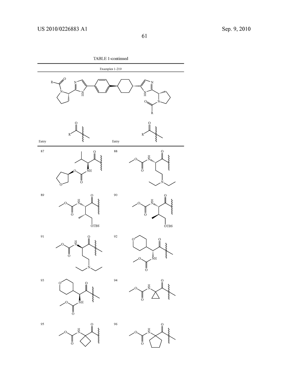 LINKED DIIMIDAZOLE DERIVATIVES - diagram, schematic, and image 62