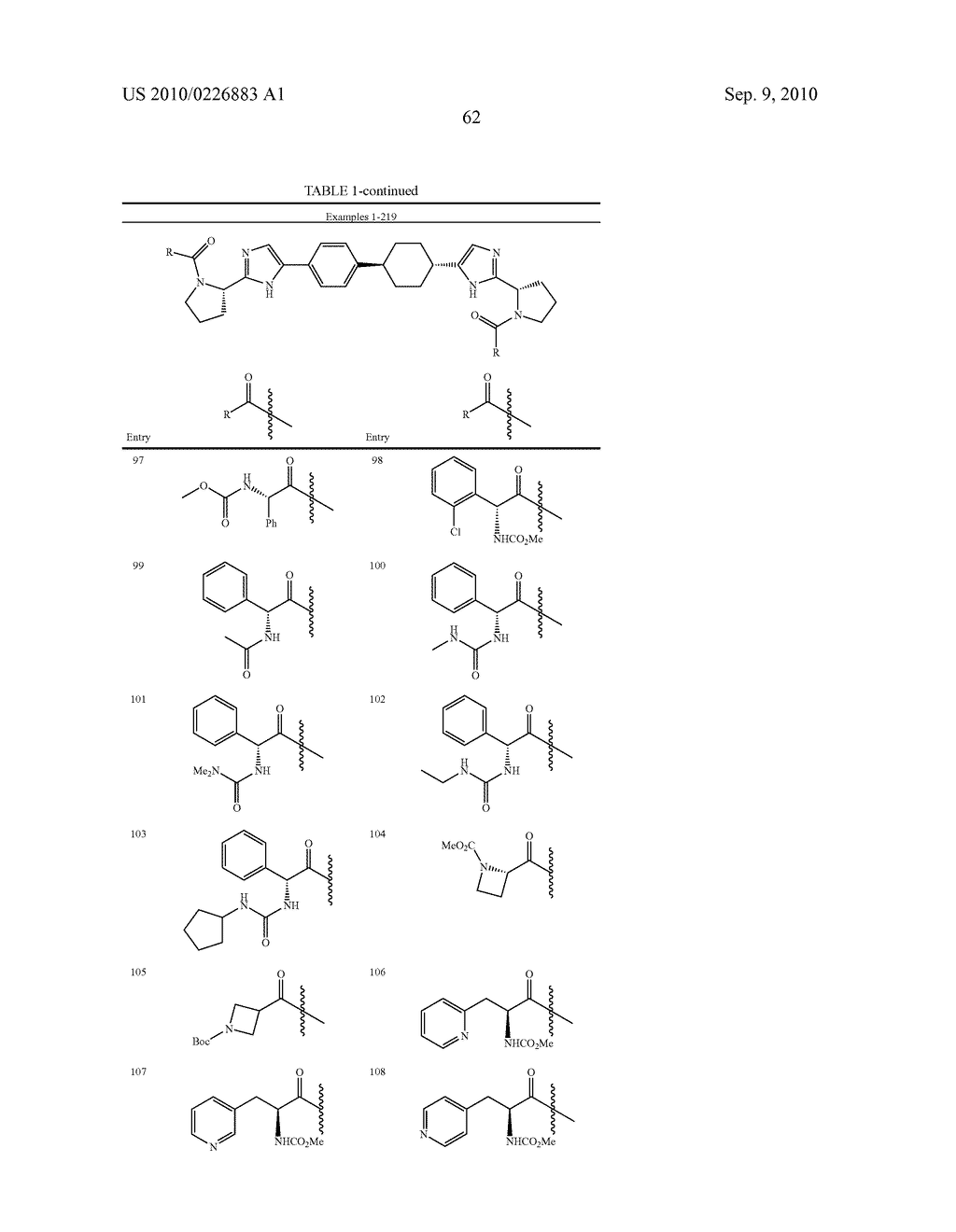LINKED DIIMIDAZOLE DERIVATIVES - diagram, schematic, and image 63